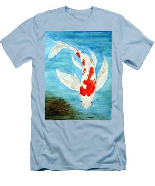 Paul's Koi Men's T-Shirt (Athletic Fit)