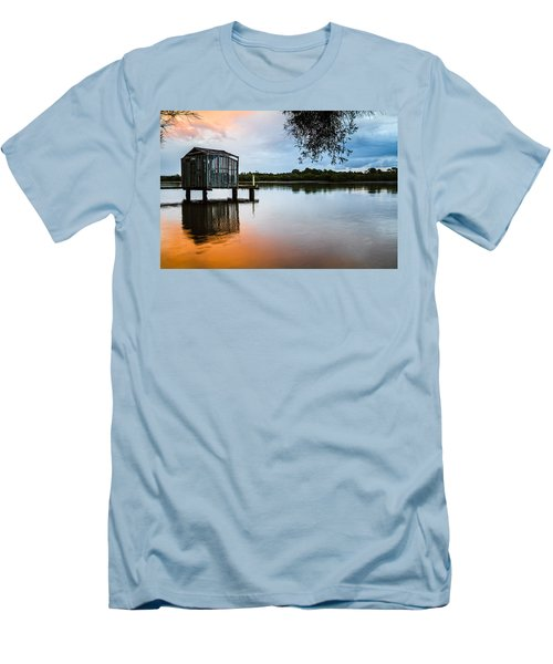 Peace At Pete's Jetty Men's T-Shirt (Athletic Fit)