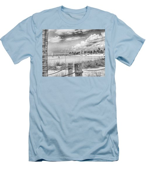 Men's T-Shirt (Slim Fit) featuring the photograph Peace by Howard Salmon
