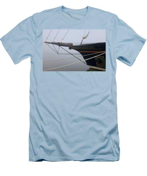 Peacemaker Men's T-Shirt (Slim Fit) by Julia Wilcox