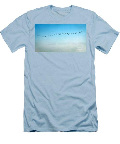 Pelican Flight Line Men's T-Shirt (Athletic Fit)