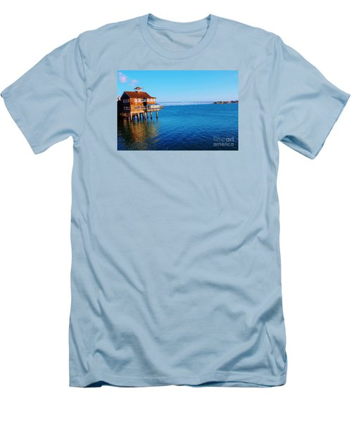 Men's T-Shirt (Slim Fit) featuring the photograph Perfect Day In San Diego by Jasna Gopic