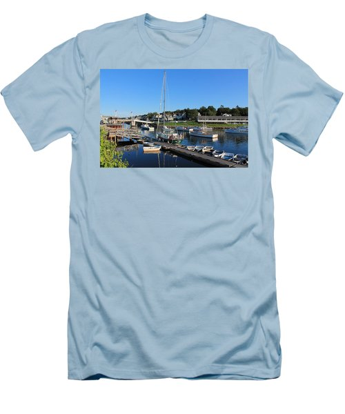 Perkins Cove Ogunquit Maine 2 Men's T-Shirt (Athletic Fit)