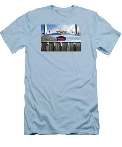 Peterbilt Men's T-Shirt (Slim Fit) by Theresa Tahara