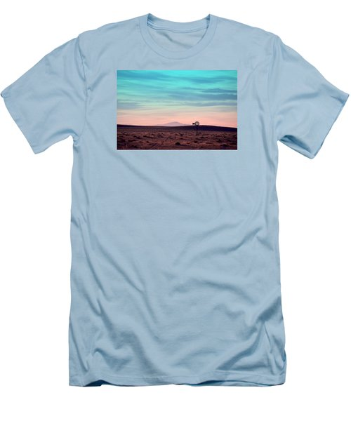 Men's T-Shirt (Slim Fit) featuring the photograph Pikes Peak To Prairie by Clarice  Lakota