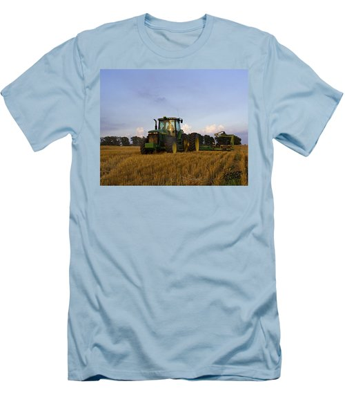 Planting Deere Men's T-Shirt (Athletic Fit)