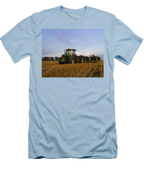 Planting Deere Men's T-Shirt (Athletic Fit)