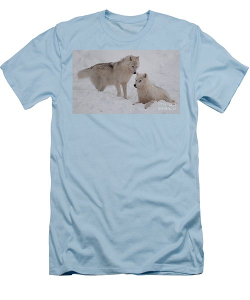 Men's T-Shirt (Slim Fit) featuring the photograph Play Time by Bianca Nadeau