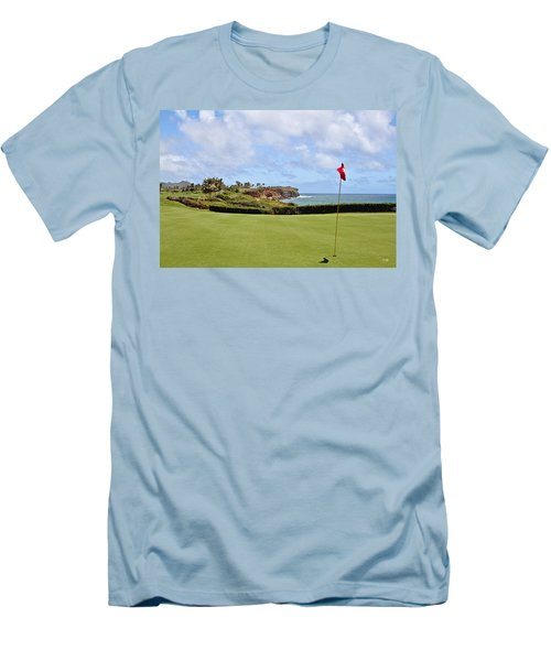 Poipu Bay #16 Men's T-Shirt (Athletic Fit)