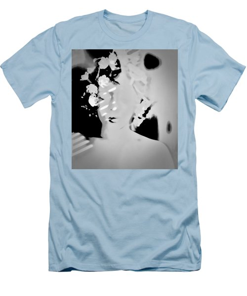 Men's T-Shirt (Slim Fit) featuring the photograph Poise by Jessica Shelton
