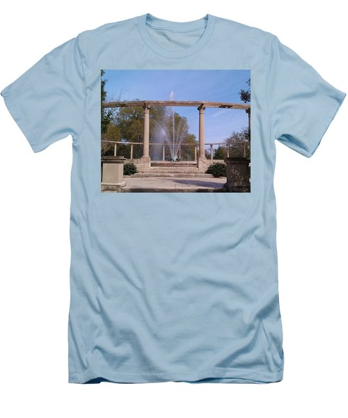 Popp Fountain New Orleans City Park Men's T-Shirt (Athletic Fit)