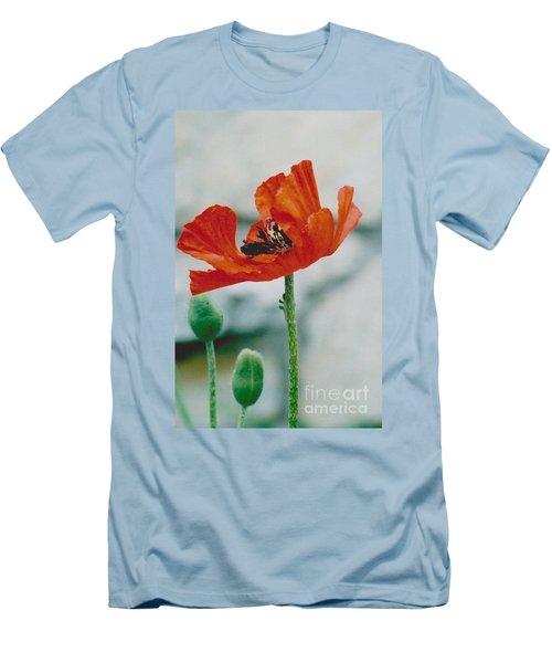 Poppy - 1 Men's T-Shirt (Slim Fit)