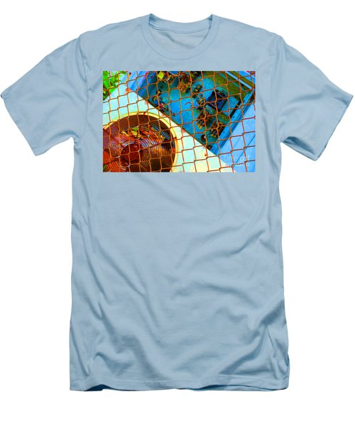 Men's T-Shirt (Slim Fit) featuring the photograph Power Failure by Christiane Hellner-OBrien