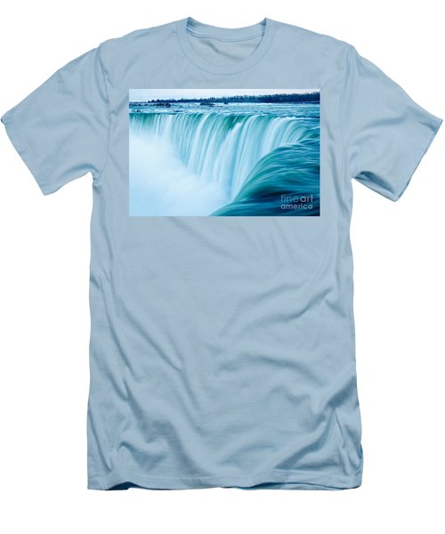 Power Of Niagara Falls Men's T-Shirt (Athletic Fit)