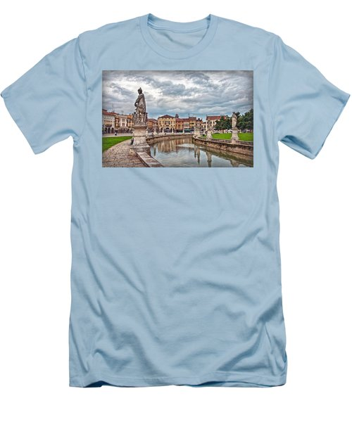 Prato Della Valle Men's T-Shirt (Athletic Fit)