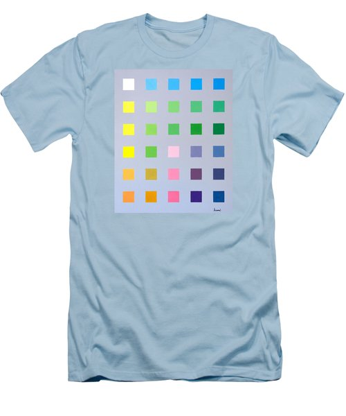 Primary To Tertiary Men's T-Shirt (Slim Fit) by Thomas Gronowski