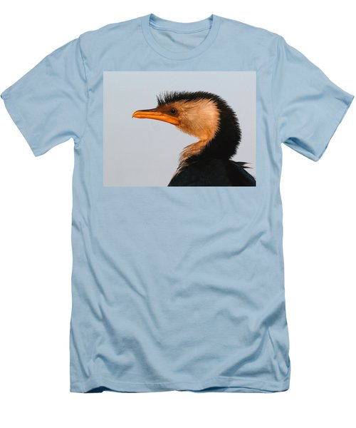 Profile Of A Young Cormorant Men's T-Shirt (Athletic Fit)
