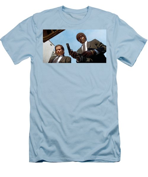 Pulp Fiction Artwork 1 Men's T-Shirt (Slim Fit)