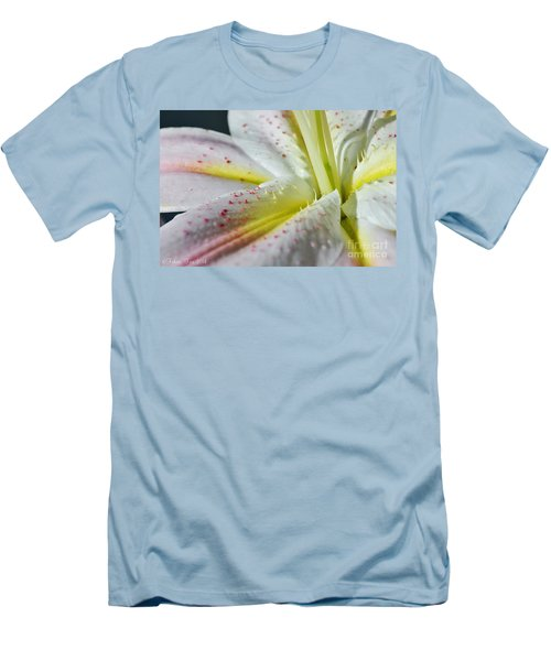 Pure And Fragrant Men's T-Shirt (Slim Fit) by Felicia Tica