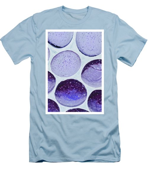 Purple Blue Men's T-Shirt (Athletic Fit)