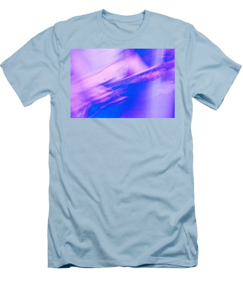 Men's T-Shirt (Slim Fit) featuring the photograph Purple Haze by Alex Lapidus
