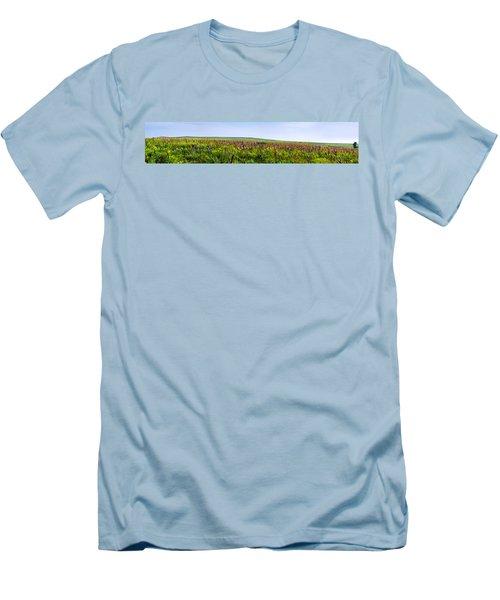 Purple Hills Men's T-Shirt (Athletic Fit)