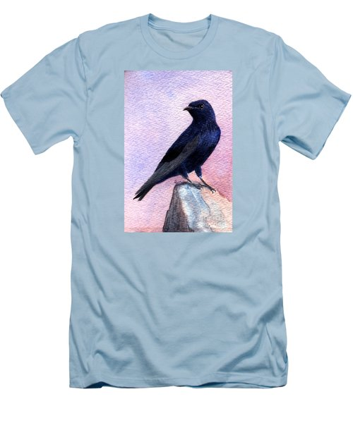 Purple Martin Men's T-Shirt (Athletic Fit)