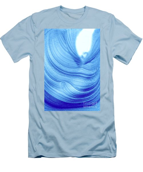 Query Blue 2 Men's T-Shirt (Athletic Fit)