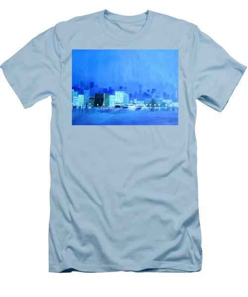 Quiet City Night Men's T-Shirt (Athletic Fit)
