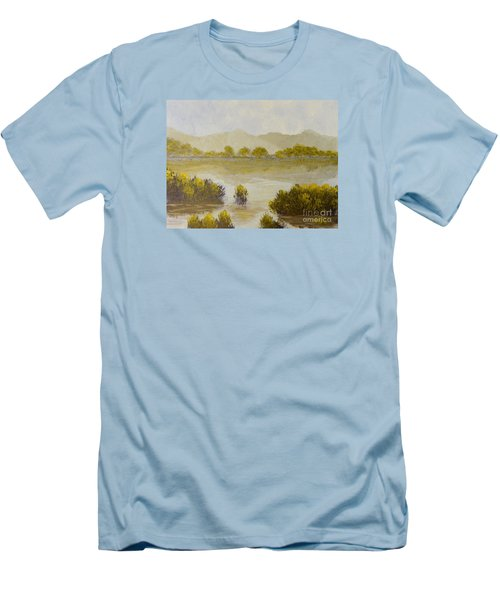 Quiet Reflections Men's T-Shirt (Athletic Fit)