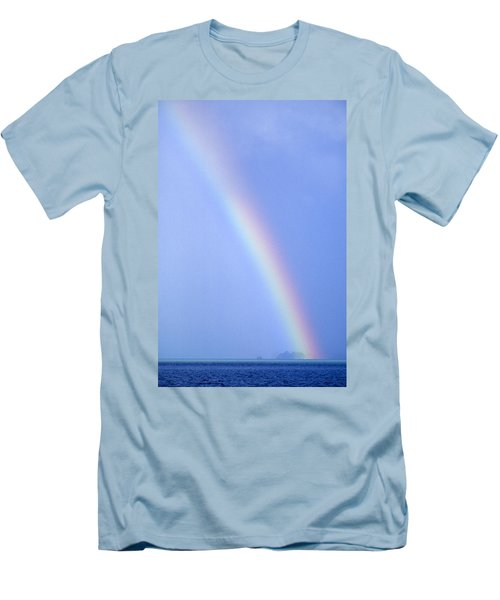 Rainbow Men's T-Shirt (Athletic Fit)