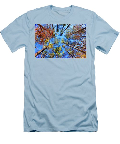 Rainbow Fall Men's T-Shirt (Athletic Fit)