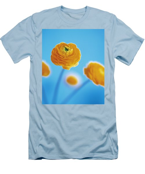 Men's T-Shirt (Slim Fit) featuring the photograph Ranunculus by Lana Enderle