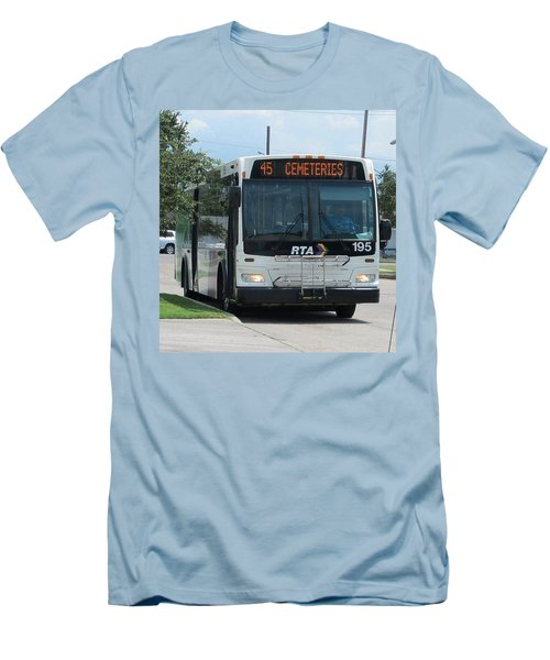 Cemeteries - Rapid Transit Authority - New Orleans La Men's T-Shirt (Athletic Fit)