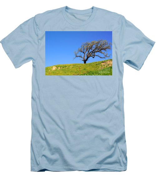 Men's T-Shirt (Athletic Fit) featuring the photograph Reach by Clayton Bruster
