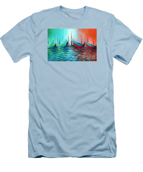 Reflecting Down Men's T-Shirt (Athletic Fit)