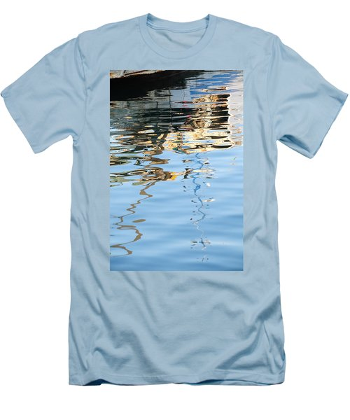 Reflections - White Men's T-Shirt (Athletic Fit)