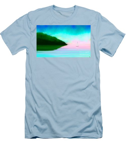Reflections Men's T-Shirt (Slim Fit) by Anita Lewis