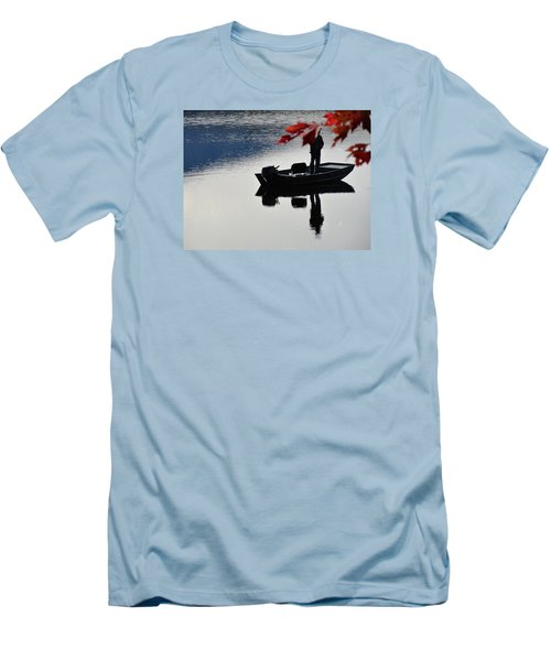 Reflections On Fishing Men's T-Shirt (Athletic Fit)