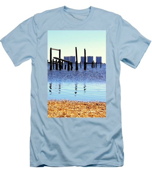 Men's T-Shirt (Slim Fit) featuring the photograph Reminders by Faith Williams