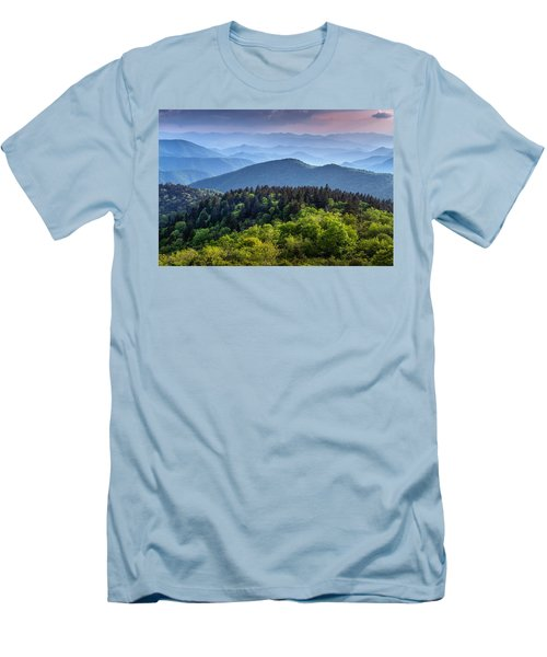 Ridges At Sunset Men's T-Shirt (Athletic Fit)