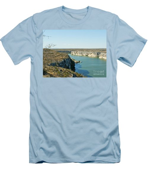 Men's T-Shirt (Slim Fit) featuring the photograph Rio Grande by Erika Weber
