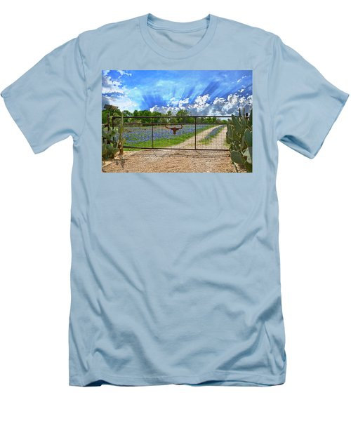 Rise And Shine Men's T-Shirt (Slim Fit) by Lynn Bauer