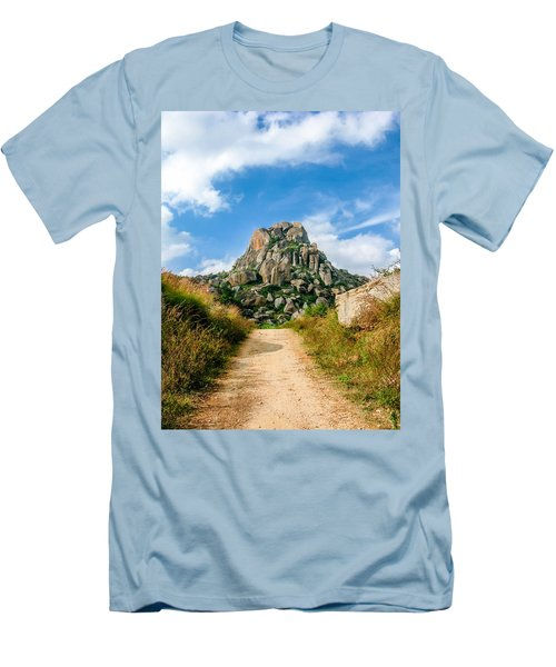 Road Into The Hills Men's T-Shirt (Athletic Fit)