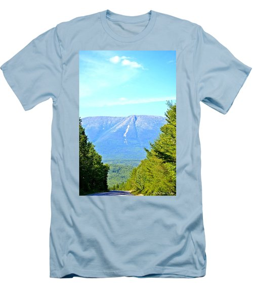 Road To Katahdin Men's T-Shirt (Athletic Fit)