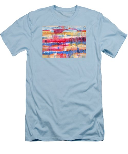 Road Trip Men's T-Shirt (Slim Fit) by Lynda Hoffman-Snodgrass