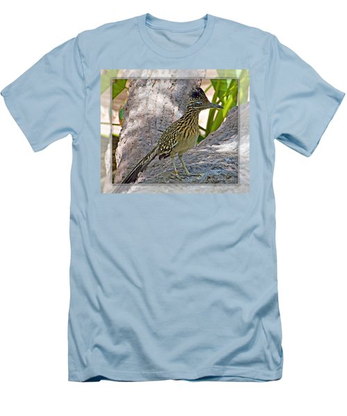 Roadrunner Men's T-Shirt (Slim Fit) by Walter Herrit