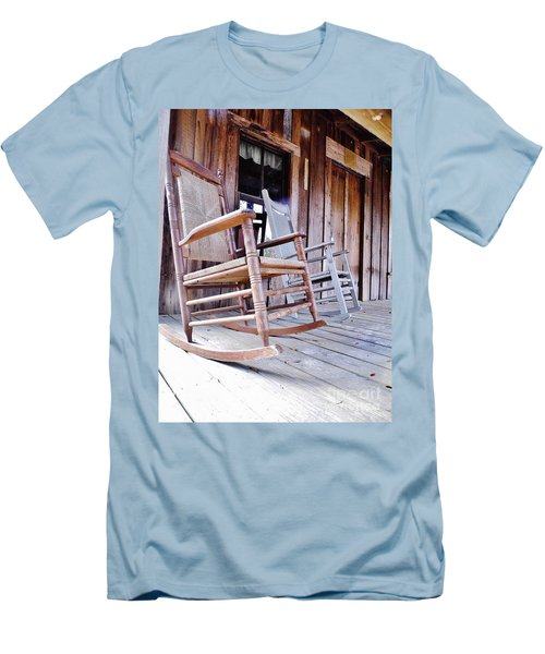 Rocking On The Front Porch Men's T-Shirt (Athletic Fit)