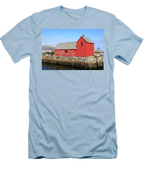 Rockport Motif Number 1 Men's T-Shirt (Athletic Fit)