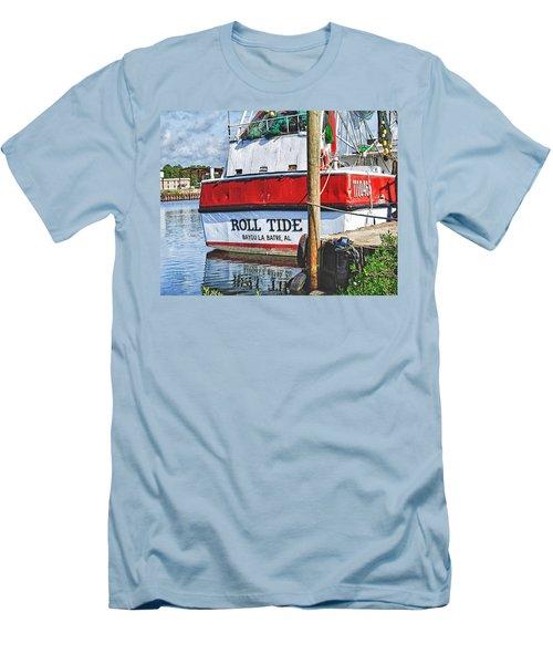 Roll Tide Stern Men's T-Shirt (Slim Fit) by Michael Thomas